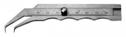 Caliper according to THORPE, measuring distance 3''
